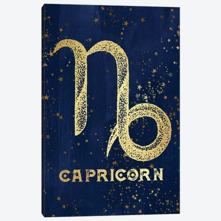 Capricorn Zodiac Sign Canvas Print #MGK28} by Nature Magick Canvas Wall Art