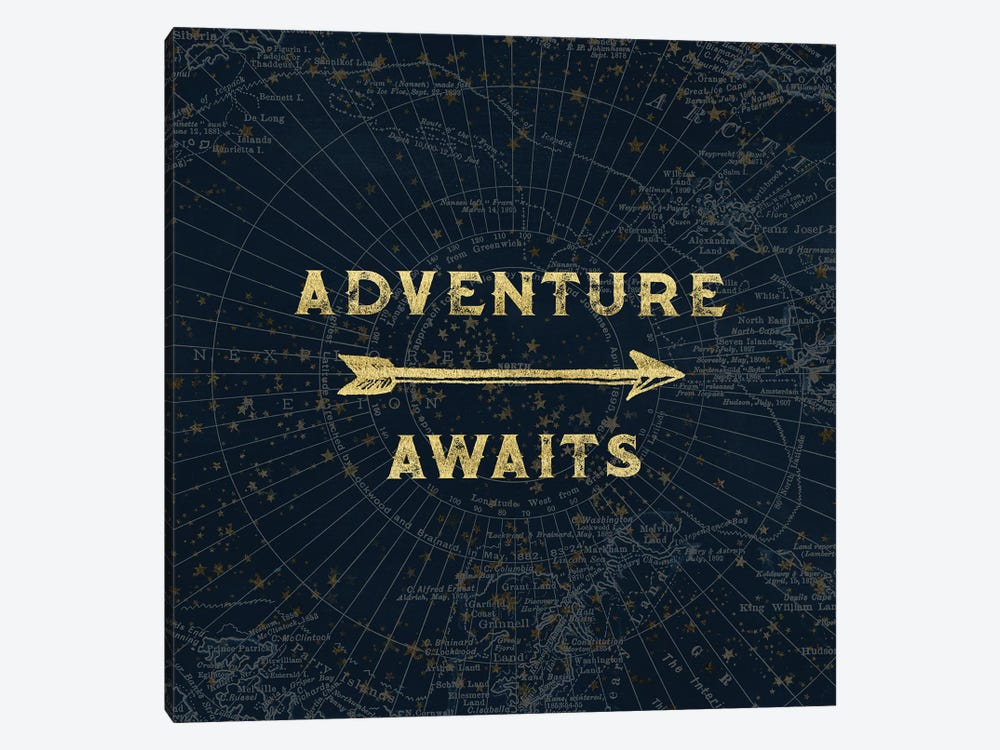 Adventure Awaits by Nature Magick 1-piece Canvas Wall Art