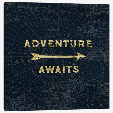 Adventure Awaits Canvas Print #MGK2} by Nature Magick Canvas Artwork