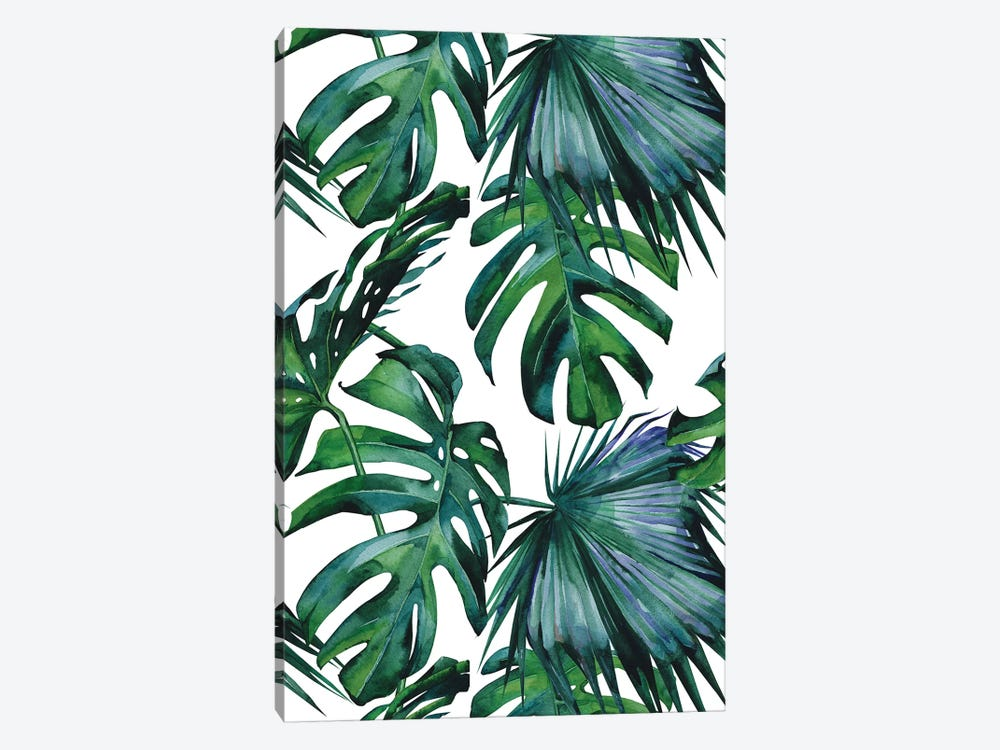 Classic Palm Leaves by Nature Magick 1-piece Canvas Print