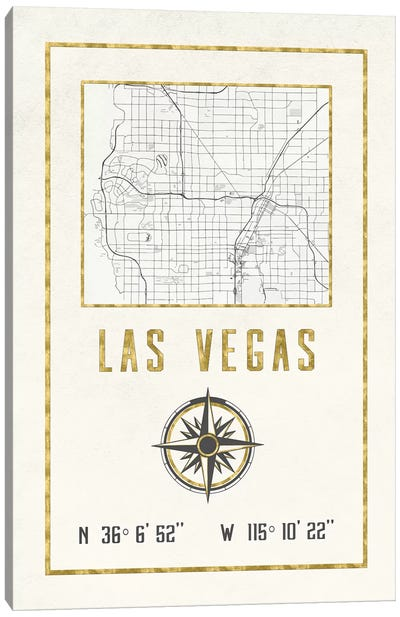 Las Vegas, Nevada Canvas Art Print