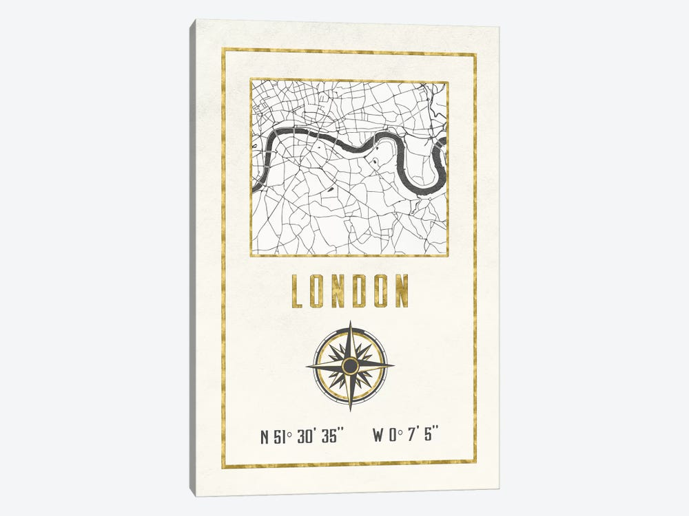 London, England, UK by Nature Magick 1-piece Canvas Print