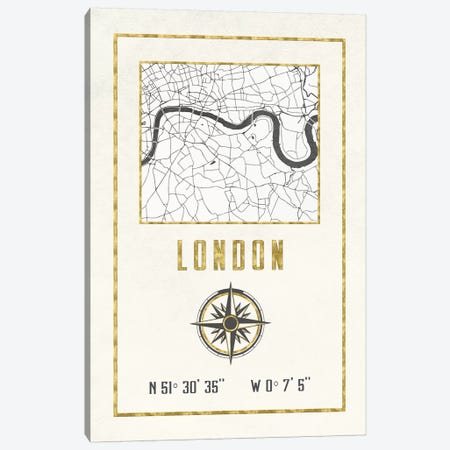 London, England, UK Canvas Print #MGK343} by Nature Magick Art Print