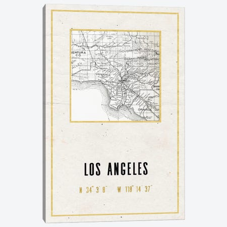 Los Angeles, California II Canvas Print #MGK345} by Nature Magick Canvas Wall Art
