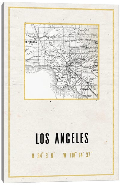 Los Angeles, California II Canvas Art Print