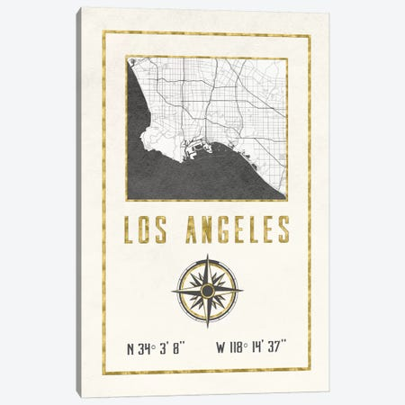 Los Angeles, California Canvas Print #MGK346} by Nature Magick Canvas Art