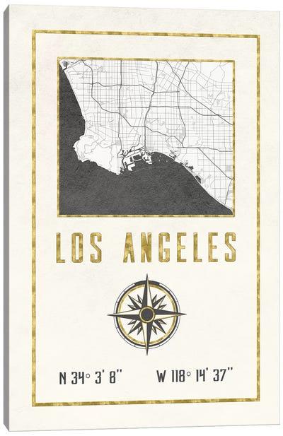 Los Angeles, California Canvas Art Print