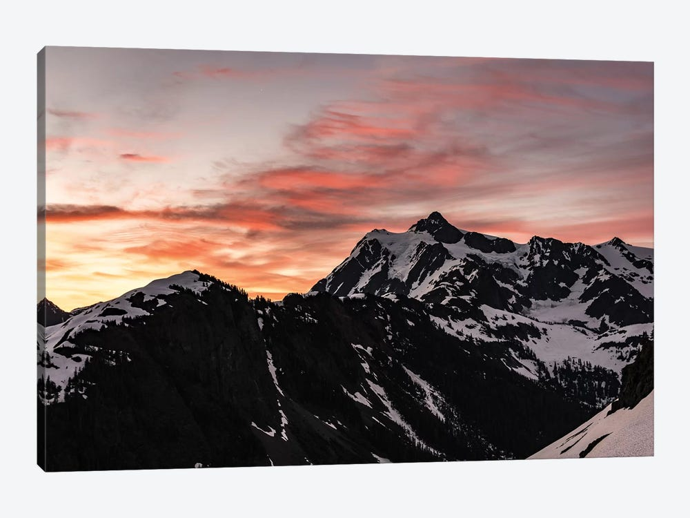 Dawn In The Mountains by Nature Magick 1-piece Canvas Print
