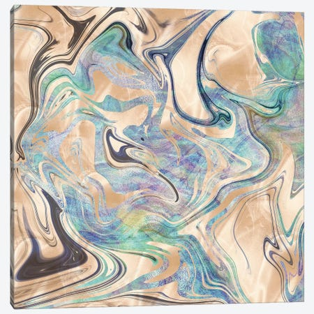 Bronze & Turquoise Canvas Print #MGK356} by Nature Magick Art Print