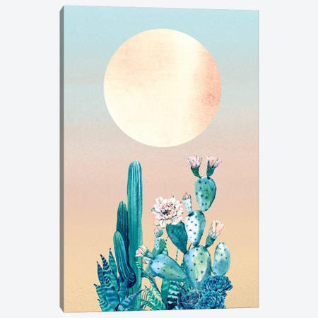 Desert Dawn Cactus II Canvas Print #MGK36} by Nature Magick Canvas Art