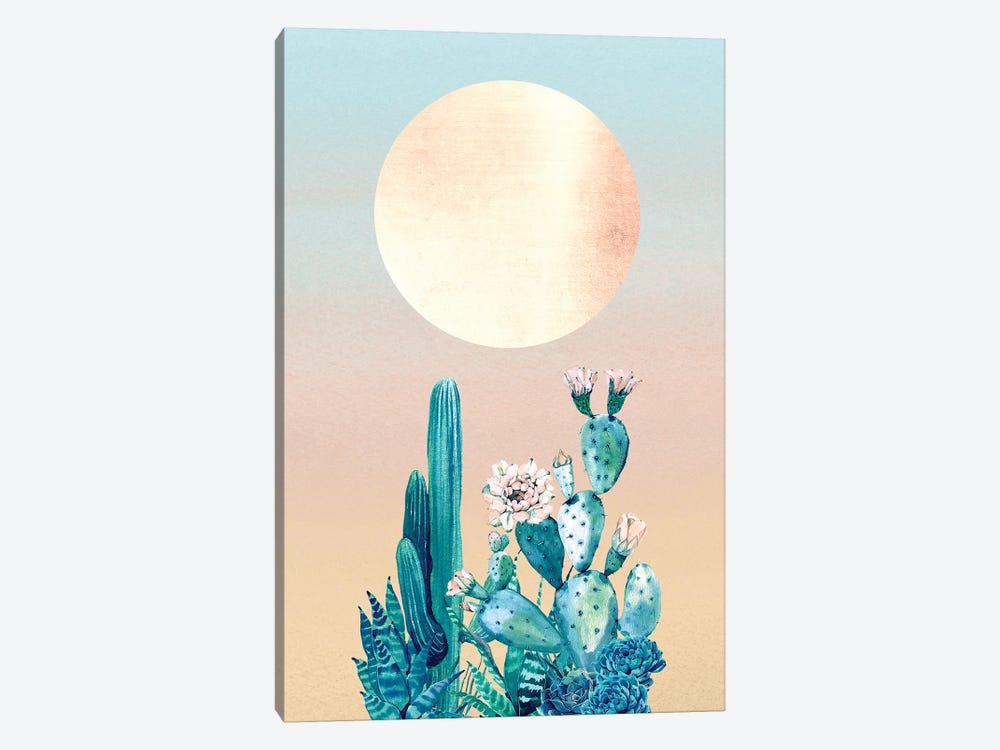 Desert Dawn Cactus II by Nature Magick 1-piece Art Print