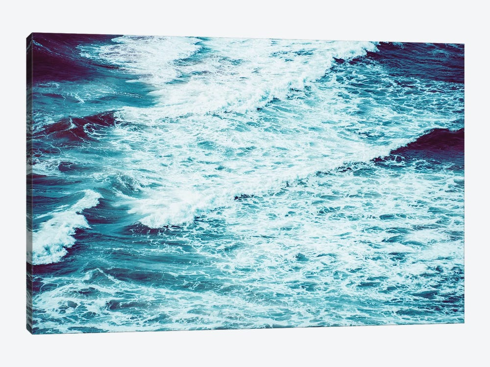 Marbled Waves Crashing by Nature Magick 1-piece Art Print