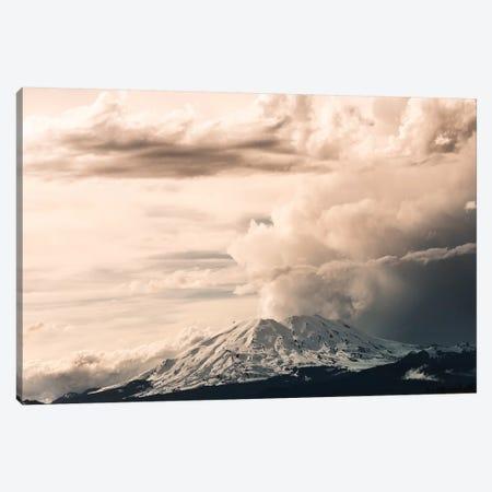 Mount St. Helens Cloud Eruption Landscape Canvas Print #MGK389} by Nature Magick Canvas Print