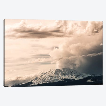 Mount St. Helens Cloud Eruption Landscape Canvas Print #MGK389} by Nature Magick Canvas Print