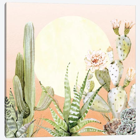 Desert Days I Canvas Print #MGK38} by Nature Magick Art Print