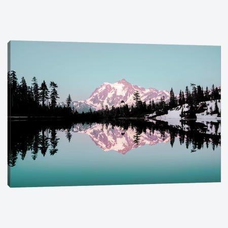 Mt. Shuksan Turquoise Mountain Lake Sunset Canvas Print #MGK394} by Nature Magick Canvas Art Print