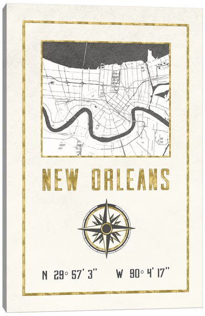 New Orleans, Louisiana Canvas Art Print