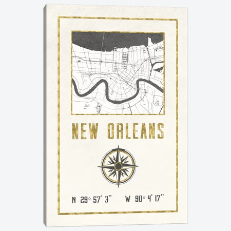 New Orleans, Louisiana Canvas Print #MGK396} by Nature Magick Canvas Print