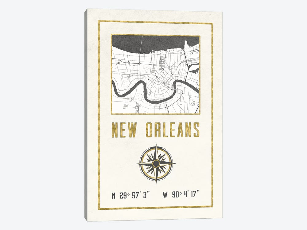 New Orleans, Louisiana by Nature Magick 1-piece Art Print