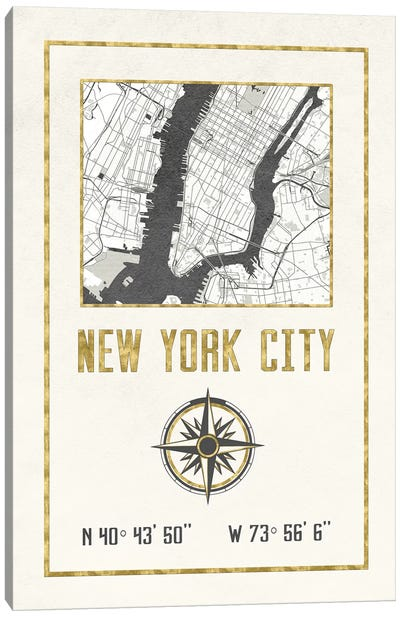 New York City, NY Canvas Art Print