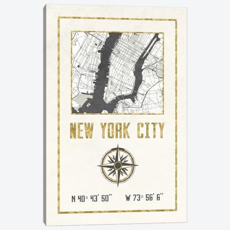 New York City, NY Canvas Print #MGK397} by Nature Magick Art Print