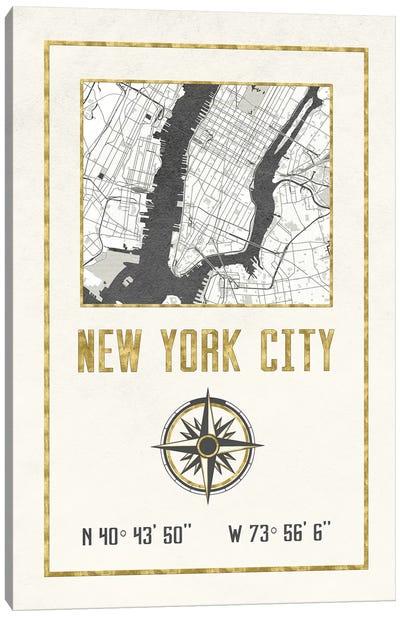 New York City, NY Canvas Art Print