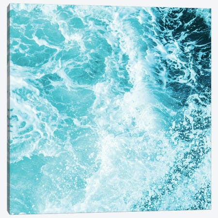 Ocean Sea Waves Landscape 3-Piece Canvas #MGK401} by Nature Magick Canvas Art