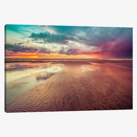 Ocean Sunset Adventure 3-Piece Canvas #MGK402} by Nature Magick Canvas Artwork