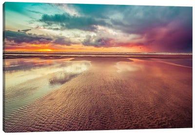 Ocean Sunset Adventure Canvas Art Print