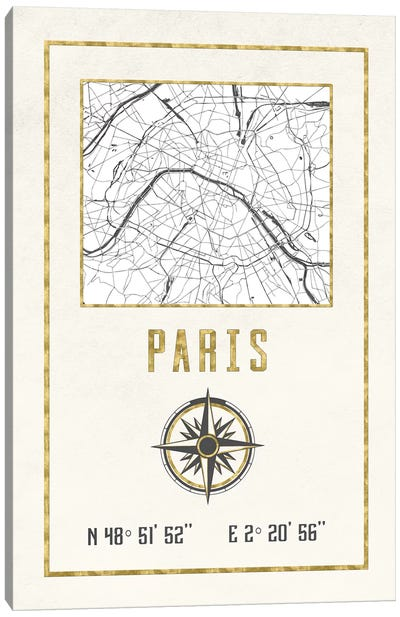 Paris, France I Canvas Art Print