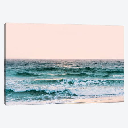 Pastel Ocean Sunset Canvas Print #MGK408} by Nature Magick Canvas Artwork