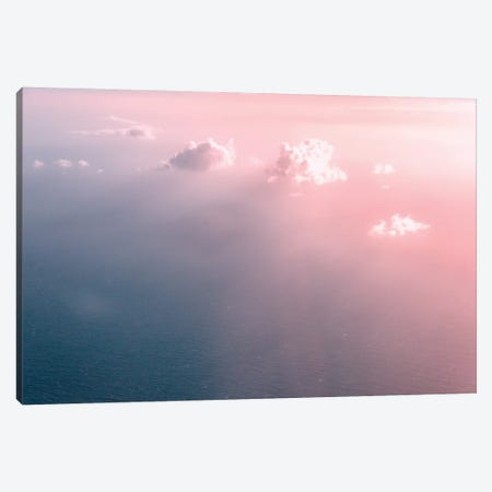 Pink Ocean Sky Canvas Print #MGK410} by Nature Magick Canvas Print