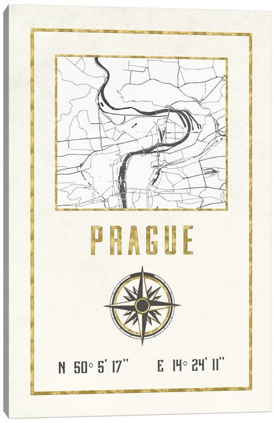 Prague, Czech Republic Canvas Art Print
