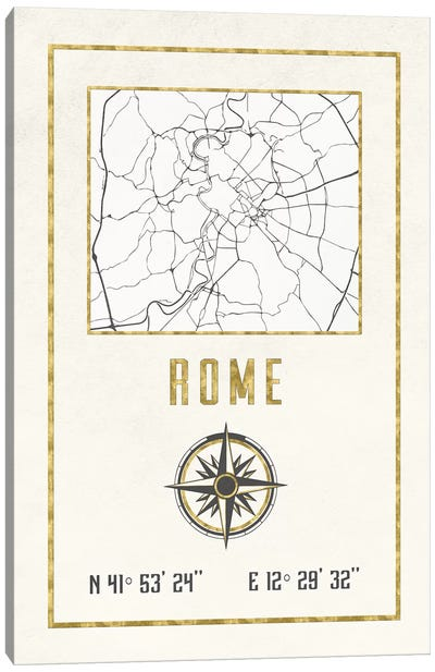 Rome, Italy Canvas Art Print