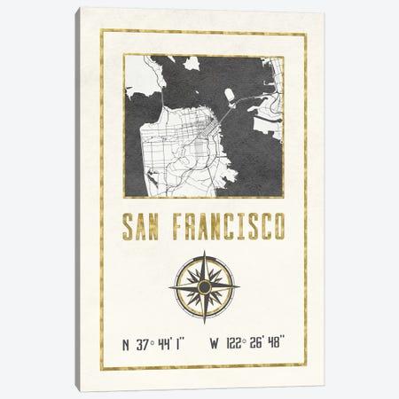 San Francisco, California Canvas Print #MGK421} by Nature Magick Canvas Wall Art