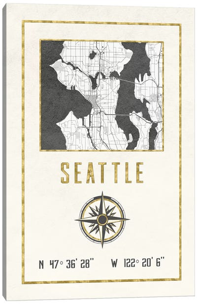 Seattle, Washington Canvas Art Print