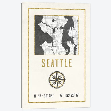 Seattle, Washington Canvas Print #MGK422} by Nature Magick Canvas Artwork