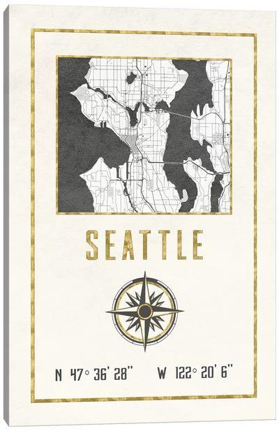 Seattle, Washington Canvas Art Print
