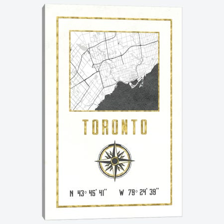 Toronto, Ontario, Canada Canvas Print #MGK463} by Nature Magick Canvas Art