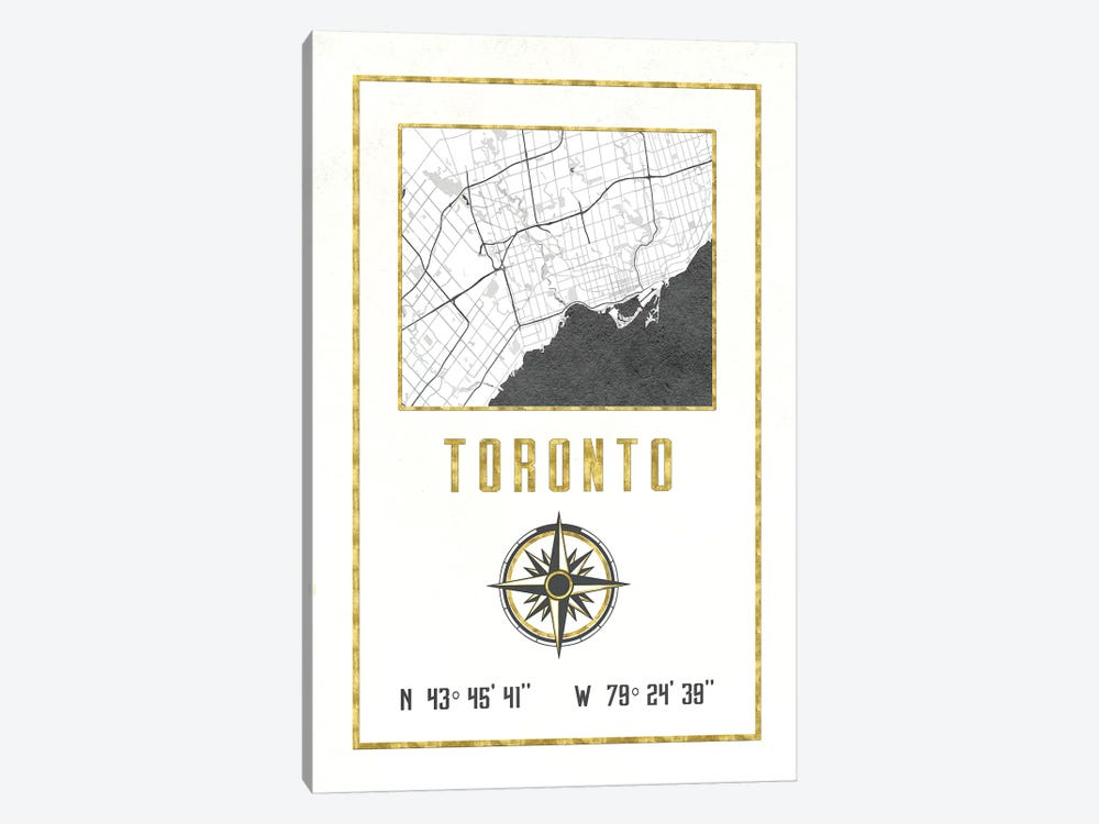 Toronto, Ontario, Canada 1-piece Canvas Artwork