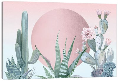 Desert Sunset III Canvas Art Print