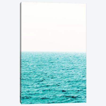 Turquoise Waves and Summer Fog Canvas Print #MGK474} by Nature Magick Canvas Artwork