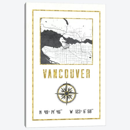 Vancouver, British Columbia, Canada Canvas Print #MGK475} by Nature Magick Canvas Artwork