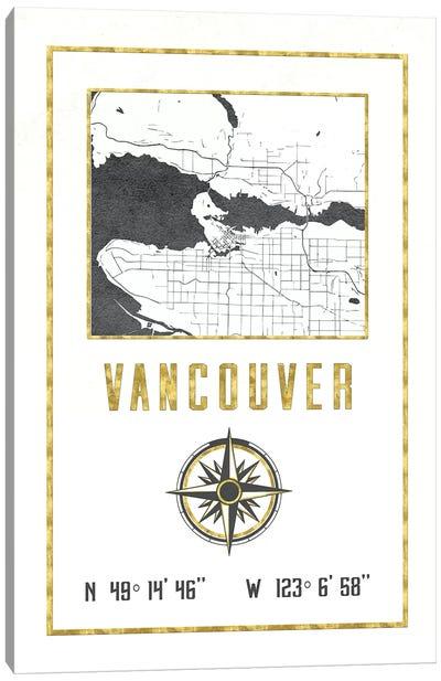 Vancouver, British Columbia, Canada Canvas Art Print