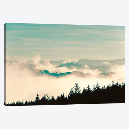 Vintage Mountain Forest Fade Canvas Print #MGK479} by Nature Magick Canvas Print