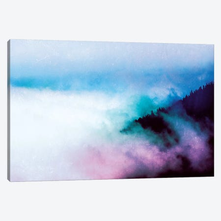 Vintage Rainbow Forest Canvas Print #MGK481} by Nature Magick Canvas Artwork