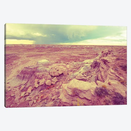 Wild West Vintage Desert Turquoise Summer Storm Canvas Print #MGK489} by Nature Magick Canvas Artwork