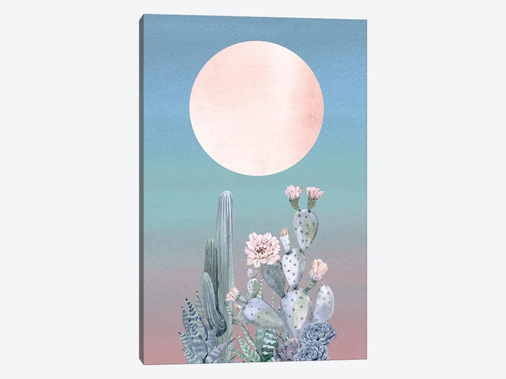 Desert Twilight II 1-piece Canvas Artwork