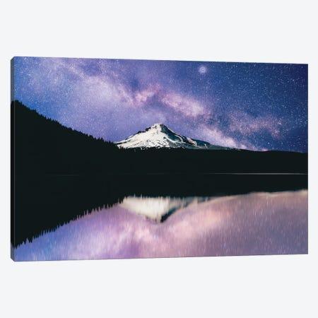 Mount Hood Galaxy Adventure Summer Stars Canvas Print #MGK509} by Nature Magick Canvas Print
