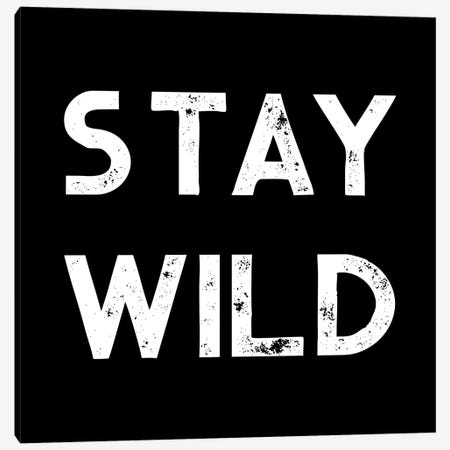Stay Wild Vintage Adventure Canvas Print #MGK511} by Nature Magick Canvas Art